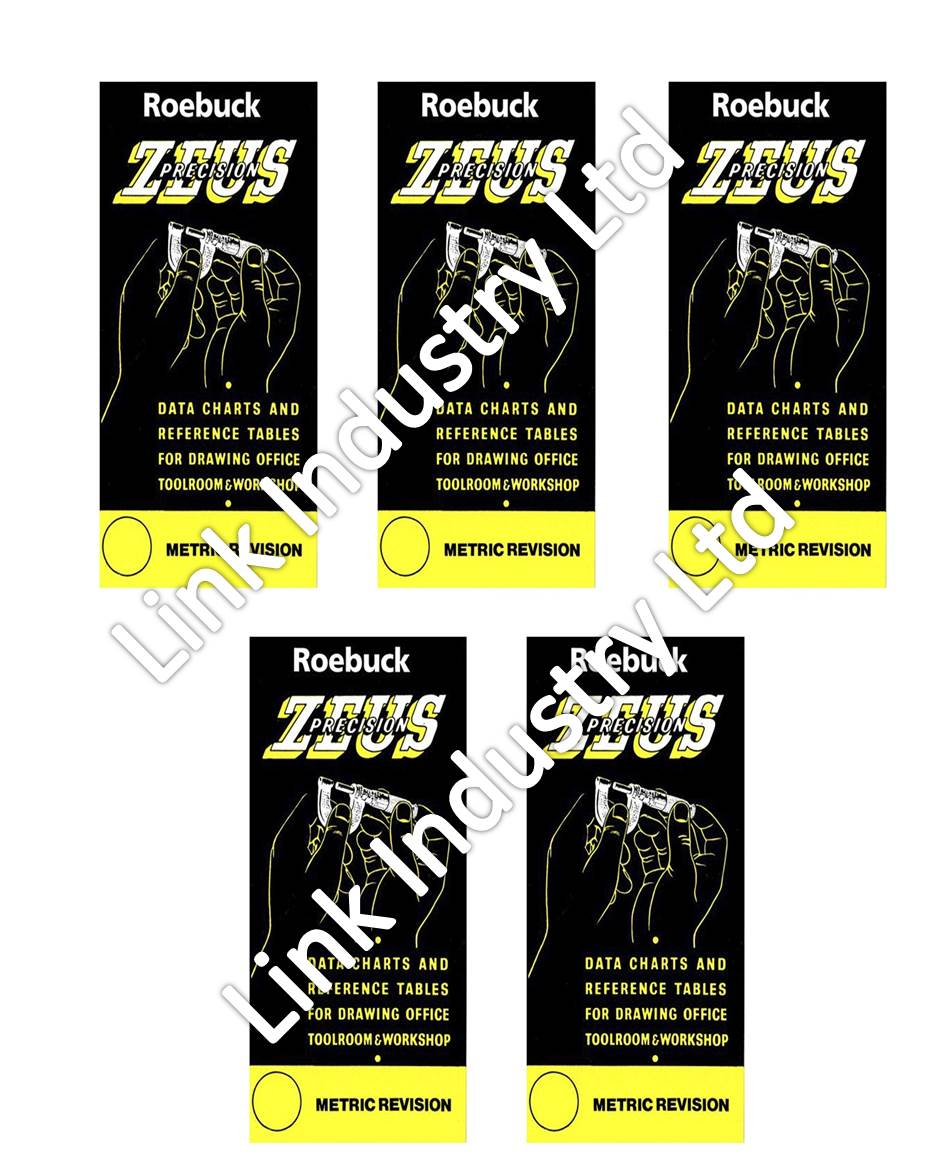 Zeus Precision Data Charts And Reference Tables Download